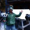 Mike D and his mini Chopper