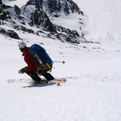 Lefebvre locks into University Peak's absolutely glorious fall line