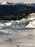 Darrel Ferguson hits a tasty wave on Blackcomb Mountain. November 30th, 2014. Photo: Dwayne Wolokowski